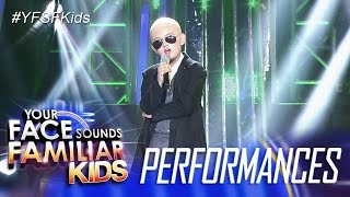 Your Face Sounds Familiar Kids: Alonzo Muhlach as Pitbull - I Know You Want Me (Calle  Ocho)