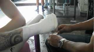 José Sousa Hand Wrapping @Lumpinee 21/07/2012