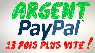 GAGNER DE L'ARGENT PAYPAL 13 FOIS PLUS RAPIDEMENT [ASTUCE EXCLU 2018]