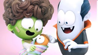Spookiz - Spookiz Turn Into Adults Overnight | Funny Cartoon for Children