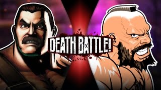 Haggar VS Zangief (Final Fight VS Street Fighter) | DEATH BATTLE!
