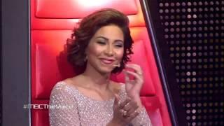 #MBCTheVoice - عمر دين ، علي يوسف وعاصي الحلاني – قومي رقصيلي بعد  - مرحلة العروض المباشرة