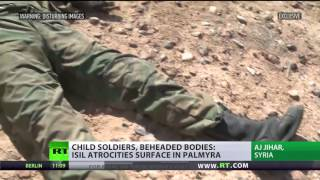 Booby Traps, Beheaded bodies: ISIS atrocities left behind after fleeing Palmyra (GRAPHIC)