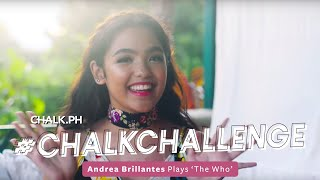 #ChalkChallenge: Andrea Brillantes Plays