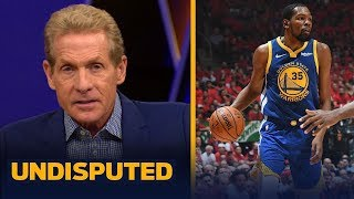 Skip Bayless still believes Kevin Durant will not re-sign with the Warriors | NBA | UNDISPUTED
