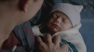 The Vampire Diaries: 7x13 - Caroline gives birth to Alaric