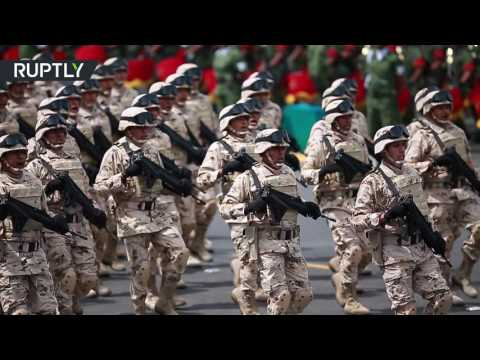 watch Huge military parade on Independence Day in Mexico