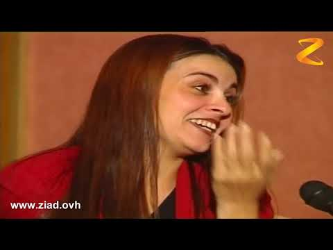 الفنانة المغربية فاطمة خير و مقلب كبير جننها زياد هاد شكل مذيع هاد ؟ والله معها حق مضحك جدا