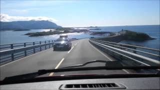 Atlantic Ocean Road (Norway) timelapse