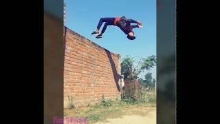 Amazing Stunts Boys, Tiktok Video, Ismail Ansari Tiktok Funny Dance Video, Fun World India