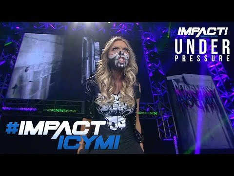 Allie's Special Demonic Entrance at UNDER PRESSURE | IMPACT! Highlights May 31, 2018