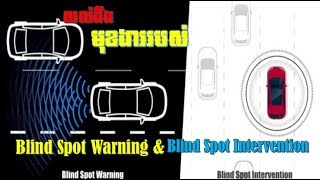 The functions of  Blind Spot Warning (BSW) and Intelligent Blind Spot  Intervention® (i-BSI),
