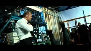 El transportador 3 (pelea en el taller mecánico)