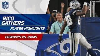 Every Rico Gathers Play Against Los Angeles | Cowboys vs. Rams | Preseason Wk 1 Player Highlights