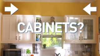 Talking Trends: Decorate above Cabinets