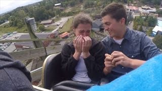 How This Boyfriend Pulled Off a Surprise Roller Coaster Proposal