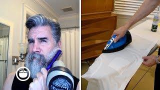 Race Against the Clock: Beard Grooming vs. Ironing