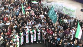 باباعمرو- مظاهرة 2-1-2012.avi