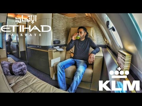HOW I LIKE TO CHILL | KLM B777 & ETIHAD A380 [4K]