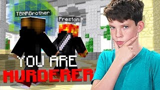 FUNNY MINECRAFT LITTLE BROTHER PLAYS SIMON SAYS in MM!