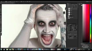 BEHIND THE SCENES: Turning DJ Borhan into the Suicide Squad Joker