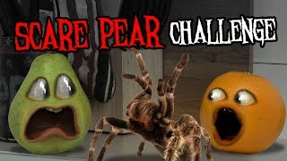 Annoying Orange - The Scare Pear Challenge #Shocktober