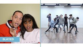BTS (방탄소년단) 'FAKE LOVE' Dance Practice REACTION (BTS REACTION)