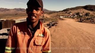 Op pad met Afrikaans - Afrikaans borrel soos 'n fontein in Namakwaland