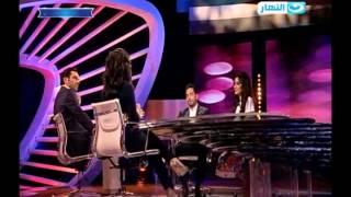 رمضان Rating | لقاء مع  حسن الرداد  - ايمي سمير غانم  نجوم مسلسل حق ميت