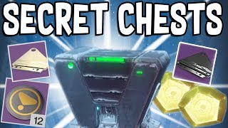 Destiny 2: LEVIATHAN RAID SECRET CHEST LOCATIONS!