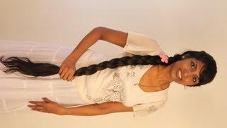 Hairstyles: Three braided hair