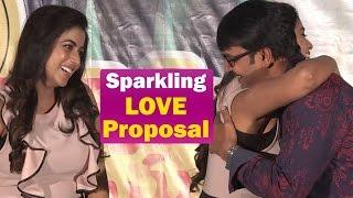 Poorna Hugs & Say's I Love You to Srinivas Reddy in Public