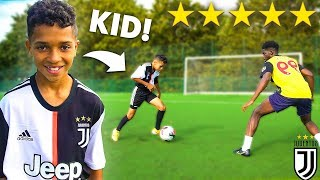 11 YEAR OLD CRISTIANO RONALDO.. AMAZING KID FOOTBALLER