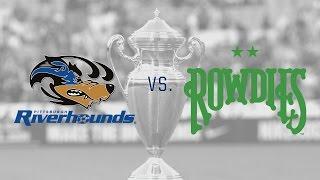 Lamar Hunt U.S. Open Cup: Pittsburgh Riverhounds vs. Tampa Bay Rowdies: Highlights - May 27, 2015