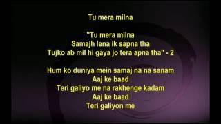 Teri Galiyo Main Na Rakhenge Kadam  - Hawas 1974   - Full Karaoke