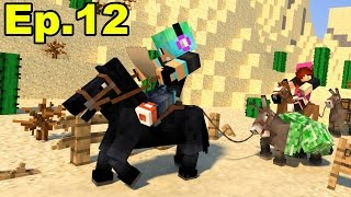 A Minecraft Survival Adventure Series / Episode 12 / Riding Horses to the Desert!