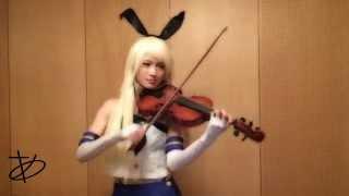 【ヲタリスト Ayasa】バイオリンで鑑これ「鋼!鉄!決!戦!」を弾いてみた