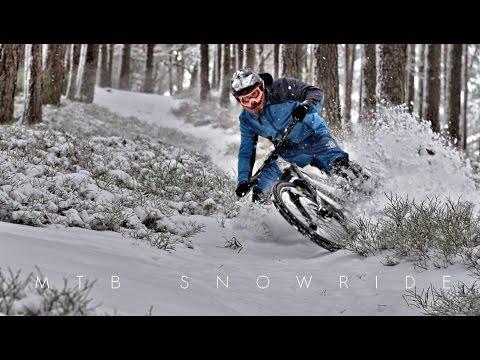 MTB SNOWRIDE + behind the scenes / vlog -subtitled-