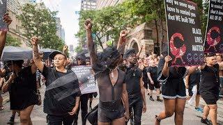 Black Lives Matter make surprise appearance at Toronto Pride