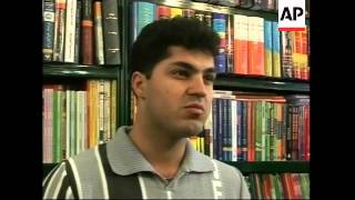 Young Iranians learn English to prepare for a life abroad