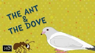 Aesop's Fables - The Ant And The Dove - Moral Stories - Animated / Cartoon Stories for Kids