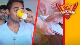 Sunrisers drinking competition