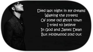 "👻 Adam Lambert  ~ ""Ghost Town"" (Lyrics) 👻"