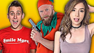 $200,000 Youtuber Battle Royale VS. Pokimane And Roman Atwood (and more)