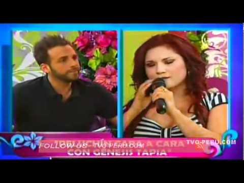 Génesis Tapia ridiculizó a Peluchín en televisión nacional
