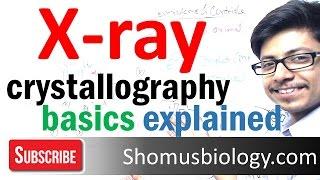 X ray crystallography basics explained | x ray diffraction