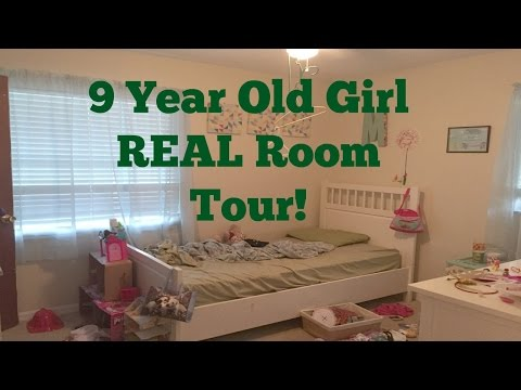 9 Year old Girl REAL Room Tour!