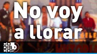 Los Diablitos - No Voy A Llorar | Audio