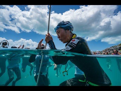 VB2016  - Sayuri Kinoshita sets the World Record in CNF to 72m