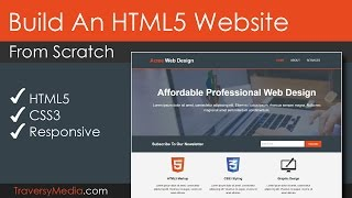 Build An HTML5 Website With A Responsive Layout